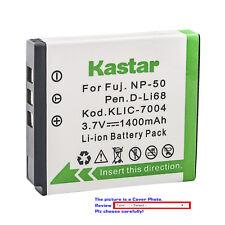 Kastar Replacement Battery for Fujifilm NP-50 Fuji NP-50A Kodak KLIC-7004 K7004