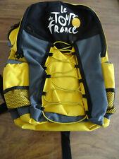 NO MAILLOT CYCLISME CYCLISTE SAC A DOS TOUR DE FRANCE COMME NEUF BAG JAUNE