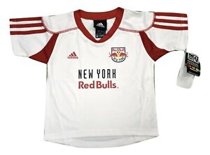 adidas MLS Infant New York Red Bulls Soccer Jersey New 12, 18, 24 Months