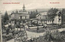 12146/ Foto AK, Schreiberhau-Weissbachtal, Die Herzheilstätte, 1908