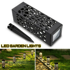 Solar Garden Torch LED Lights Dancing Flames Waterproof Landscape Lawn Lamp