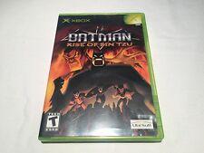 Batman: Rise of Sin Tzu (Microsoft Xbox) Original Release Complete Excellent!
