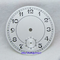 38.9mm parnis numbers watch dial fit chinese hand winding 6498 movement