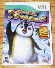 Defendin' De Penguin (Nintendo Wii, 2008) Little Blue - Strategy Game Brand NEW