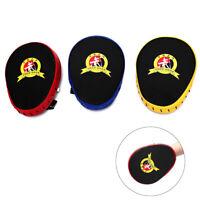 Hand Target Kick Pad Kit Black Training Focus Punch Pads Sparring Boxing Bags PL