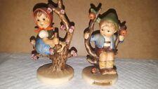 Hummel Apple Tree Boy and Apple Tree Girl Pair