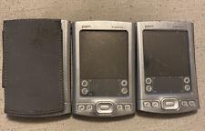 3 Palm Tungsten E2 Pda Handheld Organizer No Charger Read Discription