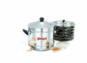 Diamond Idli Maker Induction and LPG Compatible-24 idlies