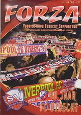 Programme / Magazine FC Utrecht Forza 2010-2011 40 jaar Supportersvereniging