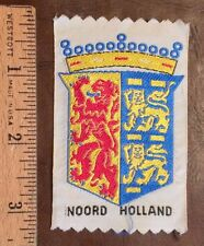 Noord Holland Coat of Arms Crest The Netherlands Souvenir Woven Patch Badge