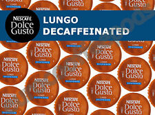Dolce Gusto Lungo Decaff Coffee Pods 100 Capsules 100 Drinks Sold Loose