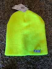 Neff Tennis Unisex Daily Beanie Warm Slouchy Soft Headwear One Size Bright Green