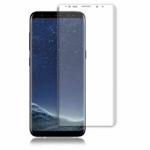 CLEAR CURVED SCREEN PROTECTOR GUARD FILM COVER FOR SAMSUNG GALAXY S8