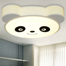 Cartoon LED Panda Ceiling Lamp Acrylic Chandelier Fixture Kid's Room Light CL161