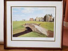 Graeme Baxter St Andrews Old Golf Course Signed Framed Print