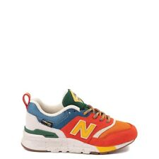 New Balance Little Kids' 997H Running Preschool Shoes Orange/Chambray PR997HCZ e