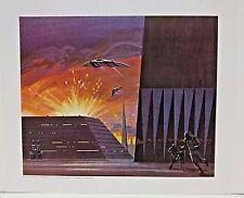"""Ralph McQuarrie Battlestar Galactica Art Print #7- Cylon Sneak Attack 11""""x13"""""""