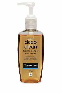 Neutrogena Deep Clean Facial Cleanser | Normal To Oily Skin | 200 ML