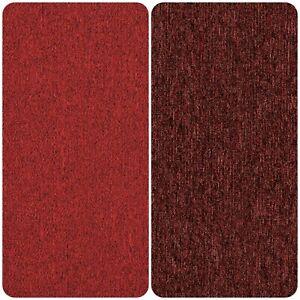 Beaudoux Red Wine Heavy Duty Carpet Floor Tile 20 Box 5m2 Loop Pile Home Office