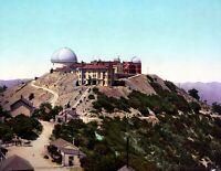 """1902 Lick Observatory, Mt. Hamilton, CA Vintage Photograph 8.5"""" x 11"""" Reprint"""