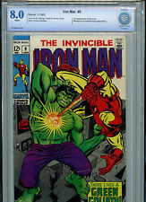 Iron Man #9 Silver Age Marvel Comics Cbcs 8.0 Vf 1st Mei-Ling