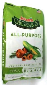 1 Bag Jobe's Organics 16 Lb All Purpose Exclusive Formula Plant Fertilizer