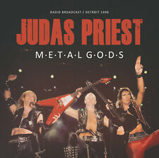 JUDAS PRIEST New Sealed 2020 LIVE 1990 DETROIT CONCERT CD