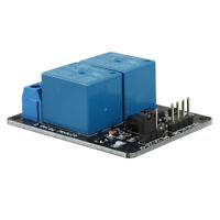 5V 2-Channel Relay Module Shield for Arduino ARM PIC AVR DSP Electronic FP