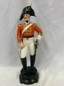 Royal Worcester Officer Of The 3rd Dragoon Guards 1806 Model No 2675