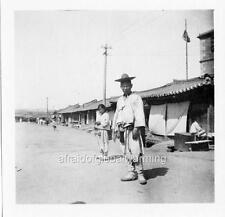 """Photo 1903 South Korea """"Wealthy Man & Boy"""""""