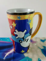 Disney Store Mickey Mouse Large Tall Coffee Mug Cup Pluto Goofy Minnie Brand NEW