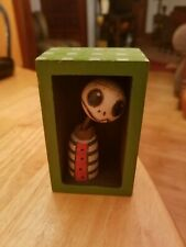 OUTSIDER WEIRD CHRIS CUMBIE ART MIXED MEDIA CREEPS LIL DUDES JACK TYPE CHARACTER