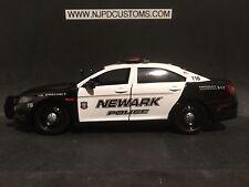 Newark Police NJ 1:24 Scale Ford Interceptor Concept