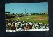 A635 Advertising Chrome Postcard 4x6 Chair of Lake Baseball Park Winter Haven FL