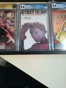 ULTIMATE FALLOUT#4 CGC 9.4 2ND PRINT VARIANT 1ST MILES MORALES APPEARANCE🔥🔥🔥