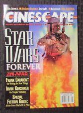 1996 CINESCAPE Magazine Feb. NM STAR WARS Forever Boba Fett Cover