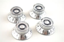 Silver Top Hat Electric Guitar Knobs For Gibson SG Style Electric Guitar