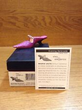 Raine Just the Right Shoe Coa Box Evening Serenade 25314 Step Into Elegance