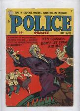 Police 115  Golden age  crime comic