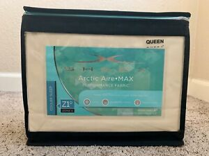 Brand new Sheex Artic Aire Max Performance sheet set in Queen (Ivory Color)