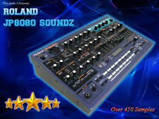 Roland JP8080 Soundz - Sample CD - Kontakt & WAV - OVER 450 Samples!