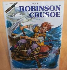 LIBRO Le avventure di Robinson Crusoe  AUT.Defoe  Emmerre ED. cod.5291