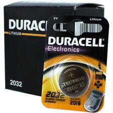 10 Piles CR2032 DURACELL bouton Lithium 3V CR 2032 DLC 2025