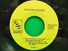 "The Starlanders Tear Stains In The Sand 7"" EP 45 Single NM KSS 7505 Record"