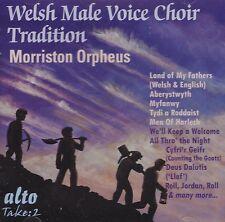 [BRAND NEW] CD: MORRISTON ORPHEUS CHOIR: THE WELSH MALE VOICE CHOIR TRADITION