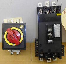 #SLS1J80 Toshiba 100Amp Breaker and Disconnect Knob 220 VAC B1059SO