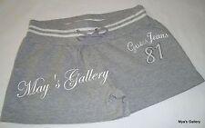 GUESS Jeans Sweatpants Shorts Sweat  Short Pants Sport  Active Wear Grey  NWT XL