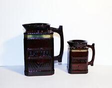 Vintage Batter and Butter Jars, Betsons Japan Ceramic Kitchen Decor