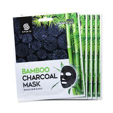 [G9SKIN] Bamboo Charcoal Mask - 1pack (5pcs)