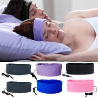 Comfort Anti Noise Sleeping Headphones Headband Headset Mask For iPhone Samsung